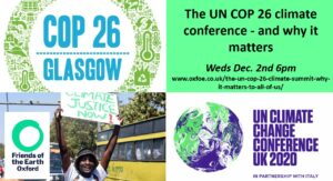 The UN COP 26 climate conference – and why it matters